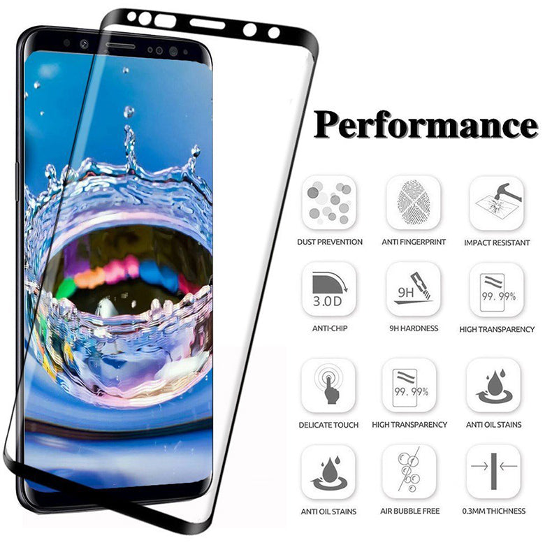 6D Tempered Glass For Samsung Galaxy S8 Plus Glass Note 8 S7 A8 A6 Screen Protector