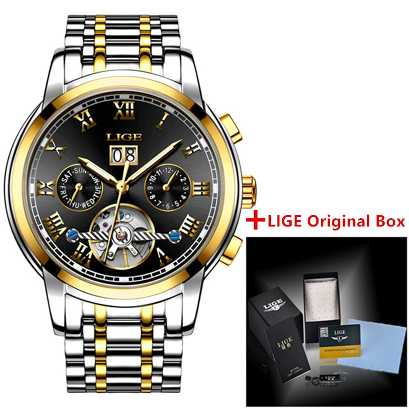 Automatic Mechanical Luxury Men's Watch