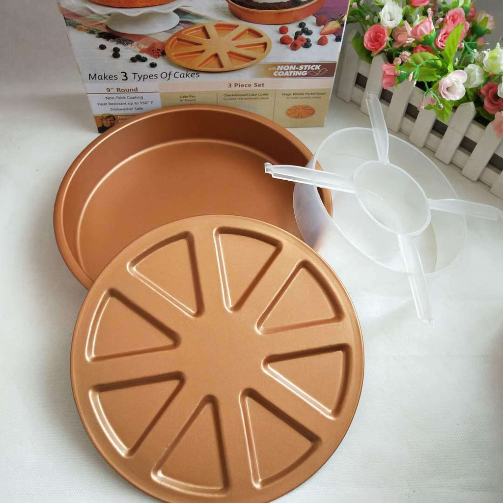 Cake Mold Copper Chef