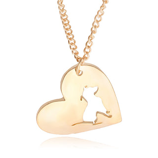 Heart Pitbull Necklace