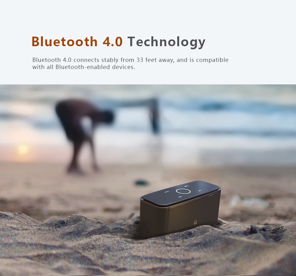 Touch Control Bluetooth Speaker