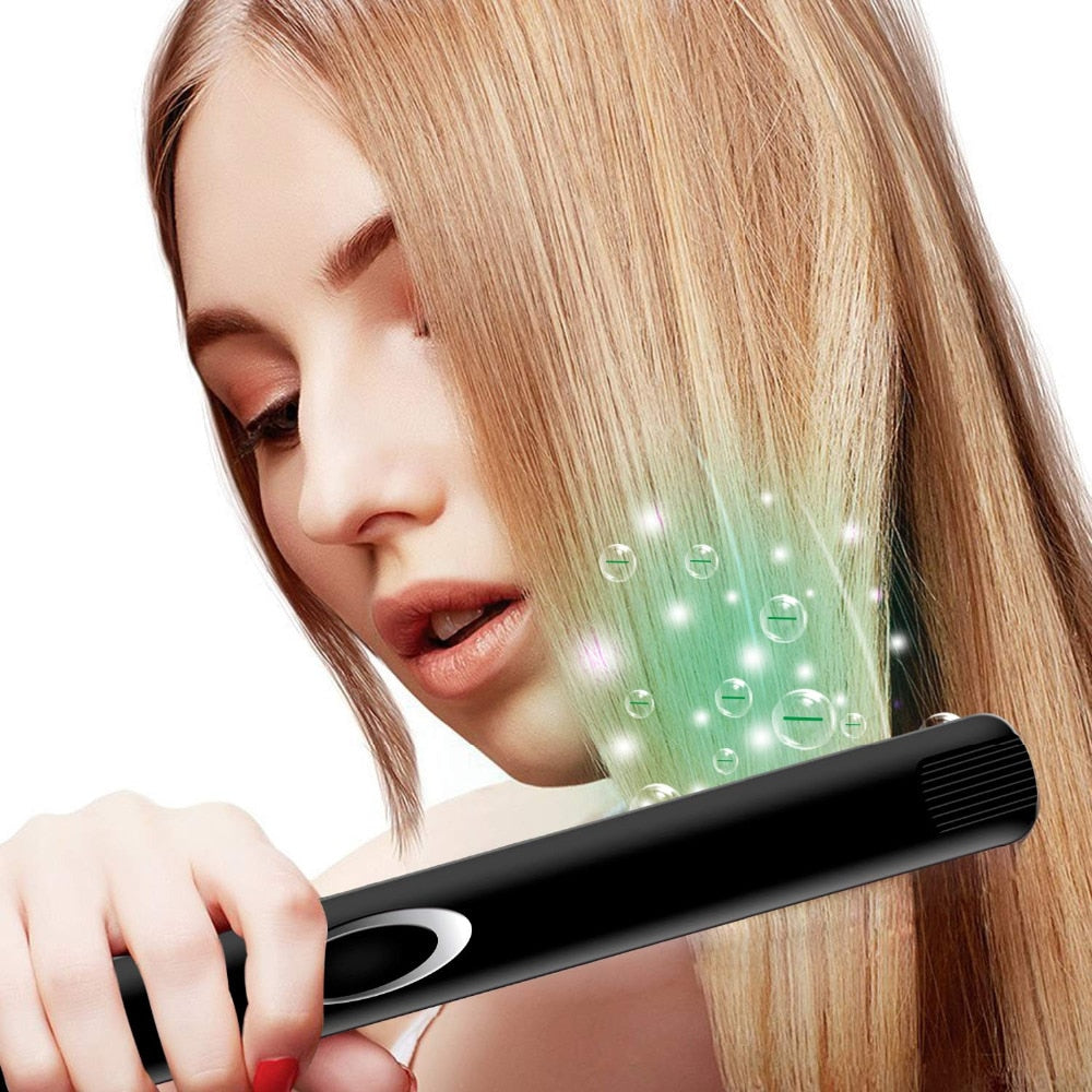 Madami Infrared Ions Ceramic Floating Plates Hair Straightener Iron