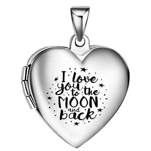 Photo locket pendant