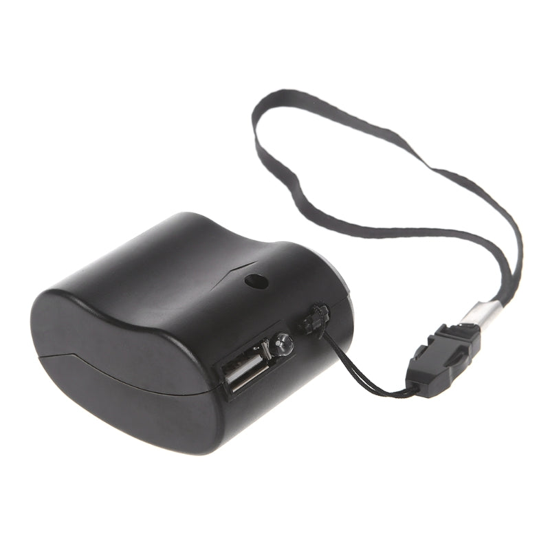 USB Hand Crank Emergency Phone Charger