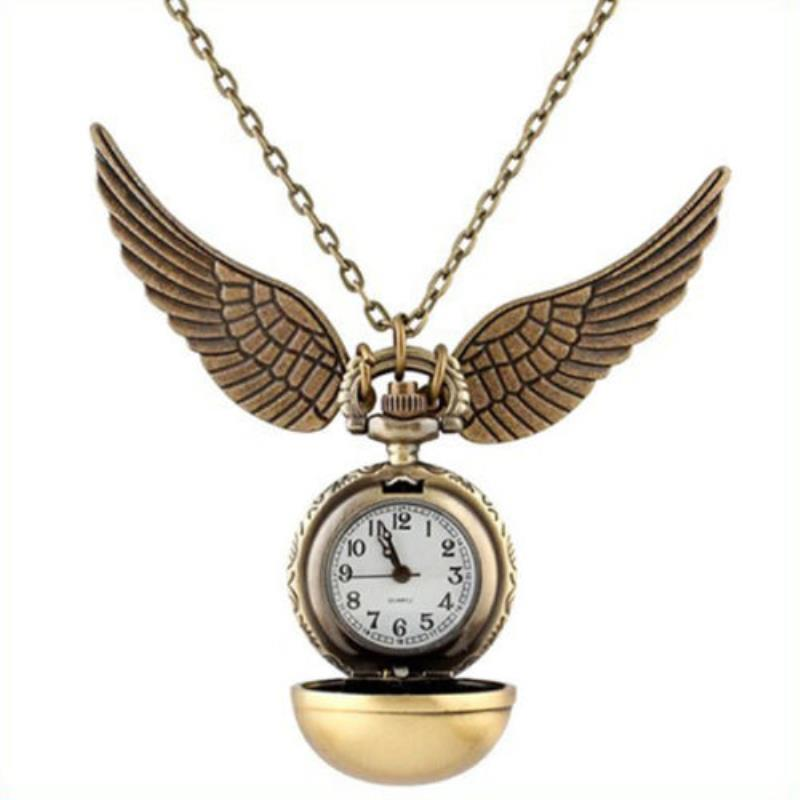 HARRY POTTER GOLDEN SNITCH NECKLACE WATCH