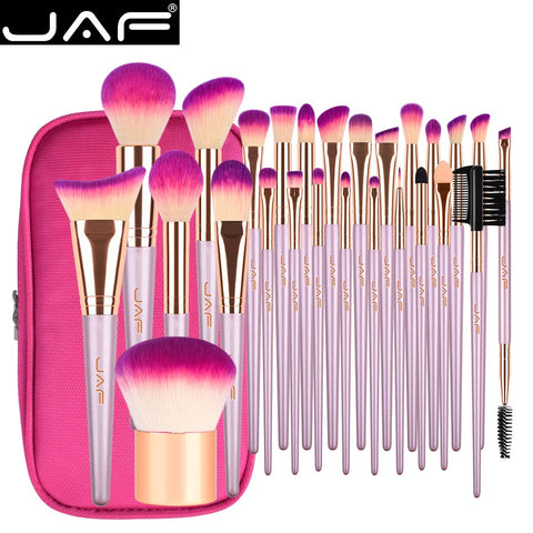 Professional travel cosmetic brush bag