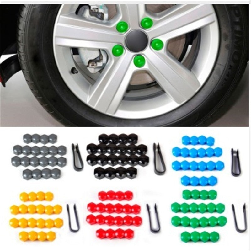Wheel Nut Screw Bolt Car Styling Dust Proof Protector