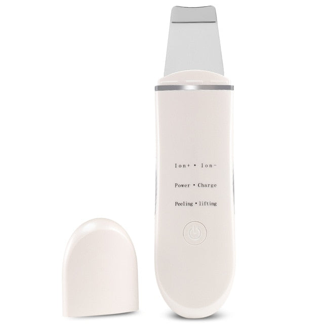 Rechargeable Ultrasonic Ion Face Scrubber