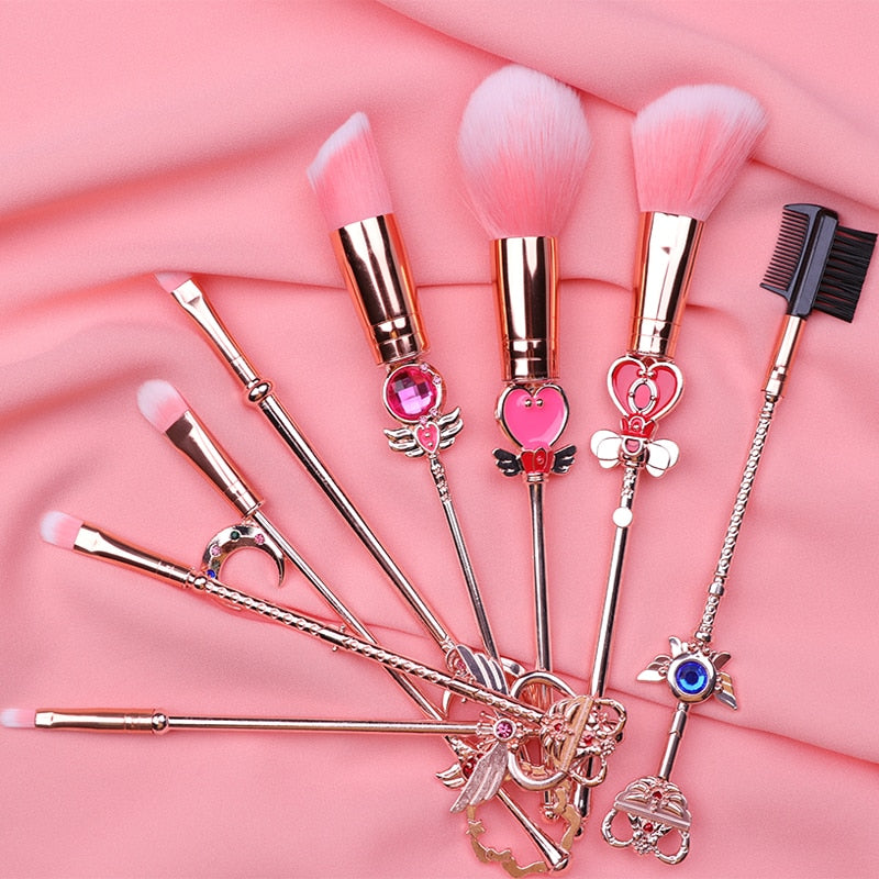 Cardcaptor Sakura Makeup Brush Set