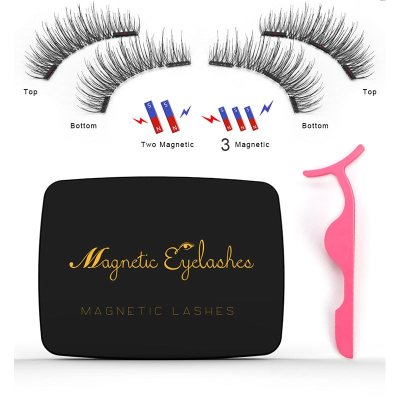Magnetic eyelashes gift box