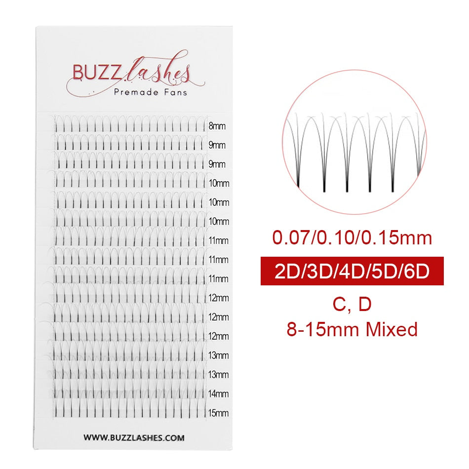 16 Lines Buzz Lashes