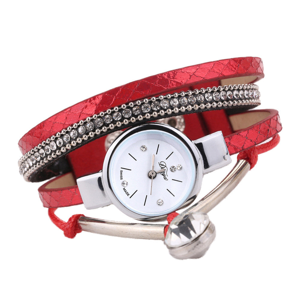 Ladies Fashion Analog Quartz Bracelet Watches