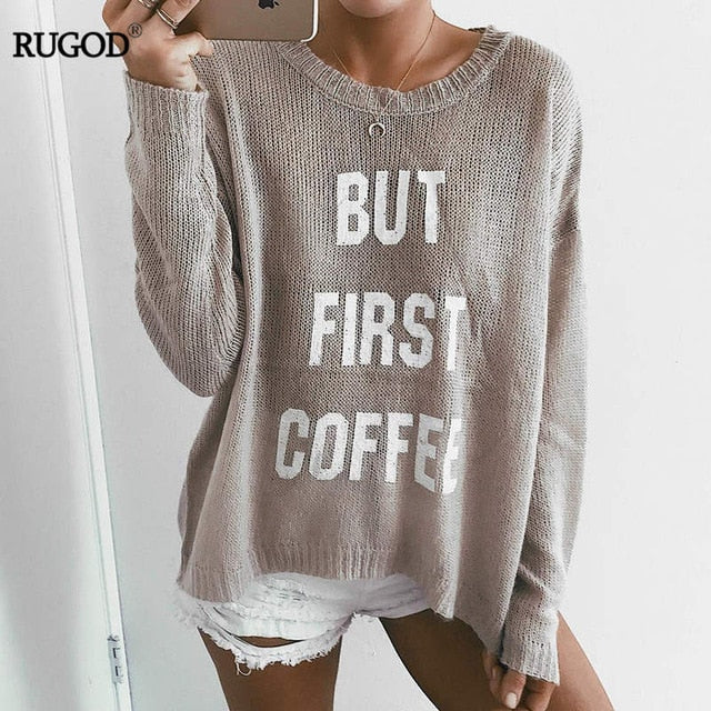 European Style Knitted Sweater