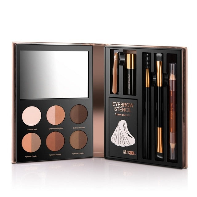 Mirror Box Makeup Tools Set