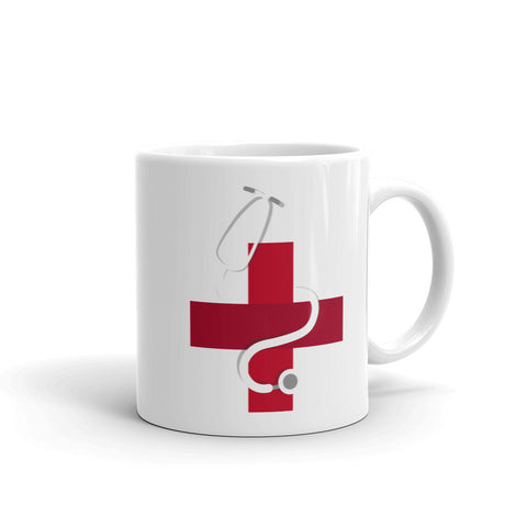 Medical stethoscope - Mug
