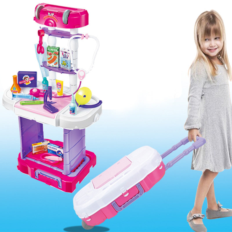 Medical Doctor Children's Plastic Toy Set