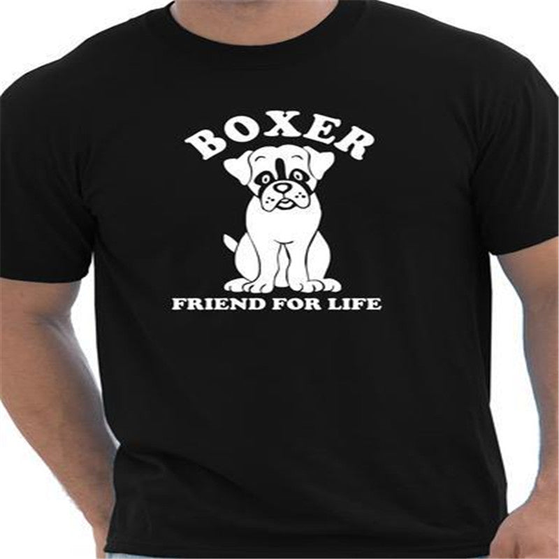 Boxer Dog Lover Tee Unisex Dog T Shirt Purple Jelly Store