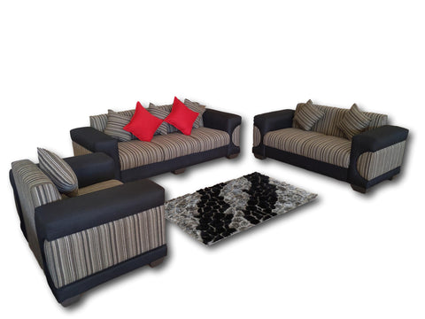 Levi 3 piece lounge suite