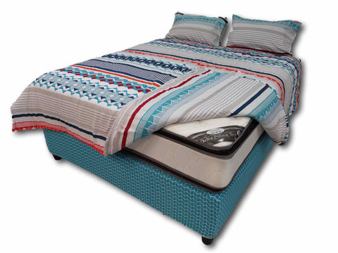 Diamond Pillow Top Bed Set