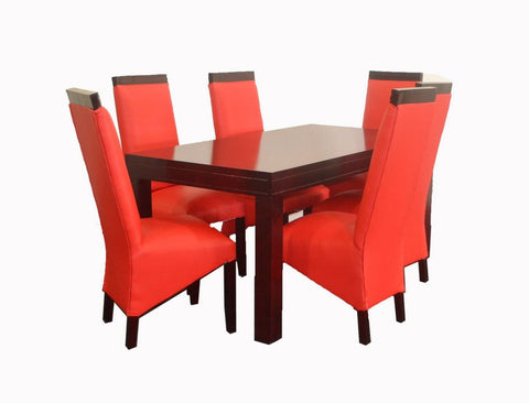 Lady Di 7 Piece Dining Room Suite (Nepolite)