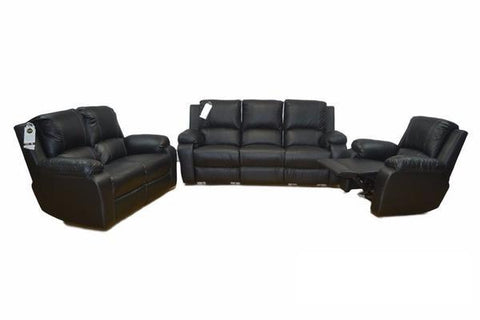 Imbali 3 Piece 3 way Recliner – Genuine Upper Leather