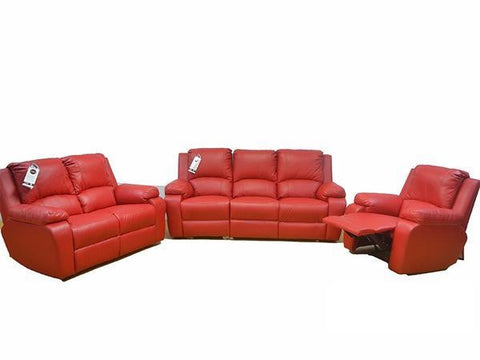 Imbali 3 Piece 3 way Recliner – Genuine Full Leather