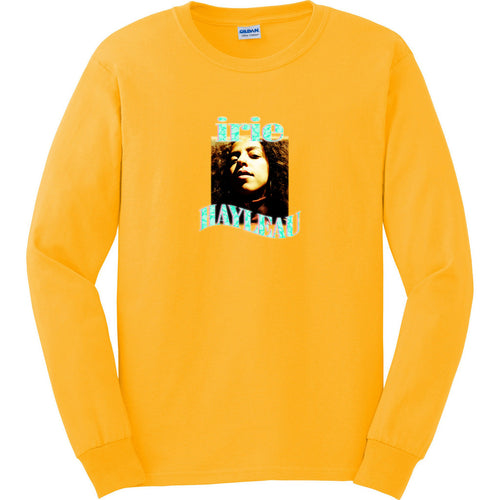Long Sleeve Irie T-Shirt - Turquoise Graphic