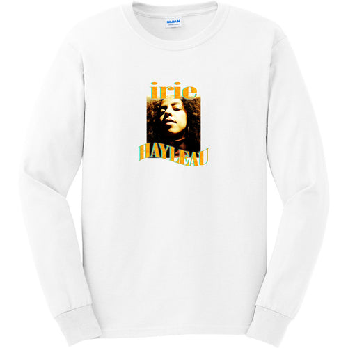 Long Sleeve Irie T-Shirt - Orange Graphic