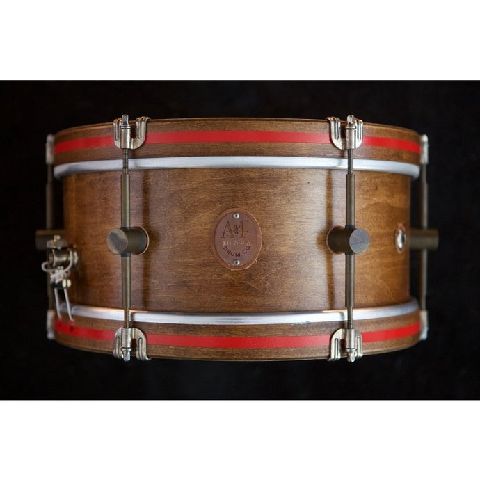 A&F Drum Co Whisky Maple Field Snare Drum