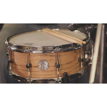 "Antonio Drums 14"" Steam Bent Ash Snare Drum"