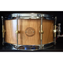"Antonio Drums 14"" True Solid Cherry Snare Drum"