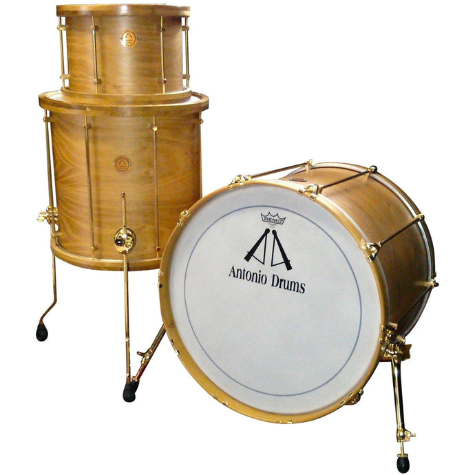 Antonio Drums Steam Bent Acacia Drum Set