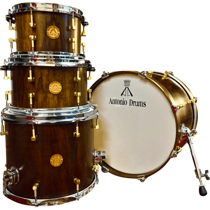 Antonio Drums True Solid Walnut Drum Set