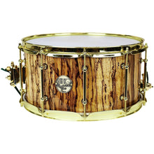 HHG Drums Gold Figured Zebrawood Stave Snare