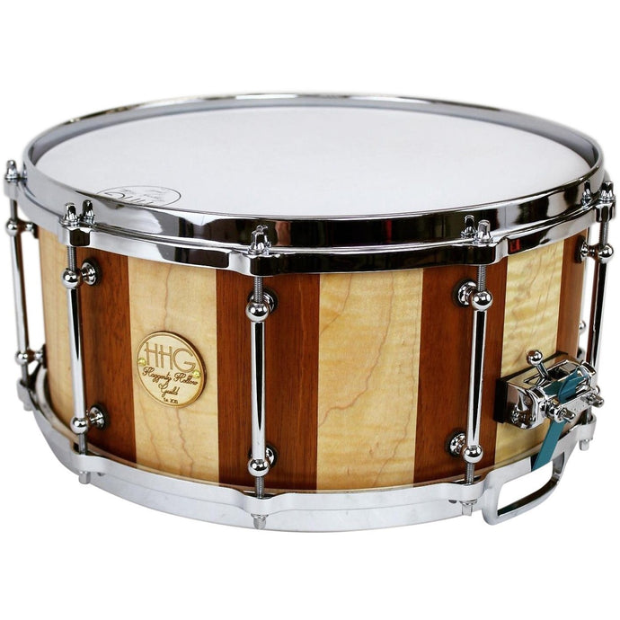 HHG Drums Maple And Mahogany Stave Snare