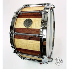 HHG Drums Maple And Mahogany Stave Snare Drum