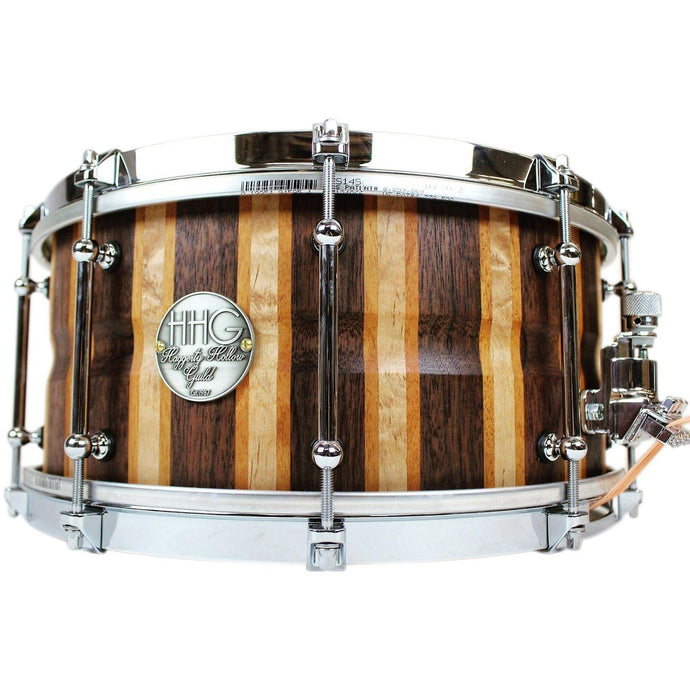 HHG Drums Walnut/Maple/Cherry Stave Snare