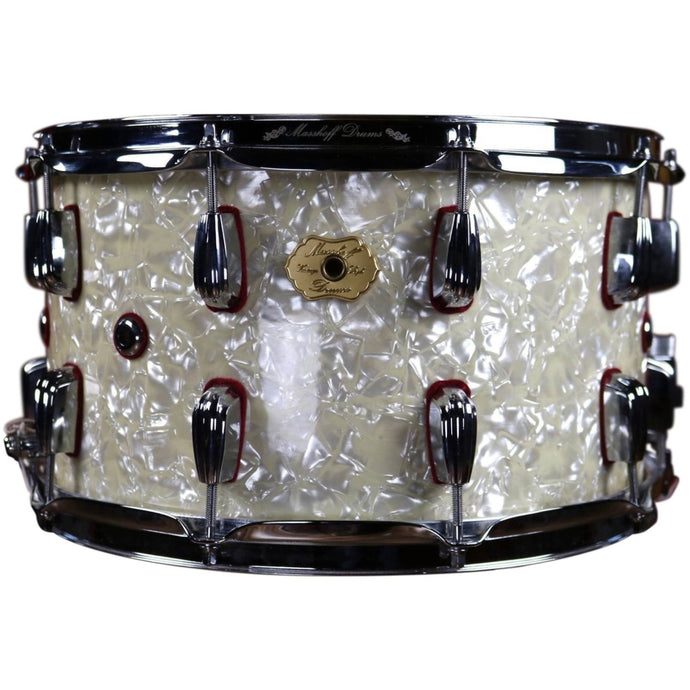 Masshoff Drums Diamonds and Pearls Custom Snare