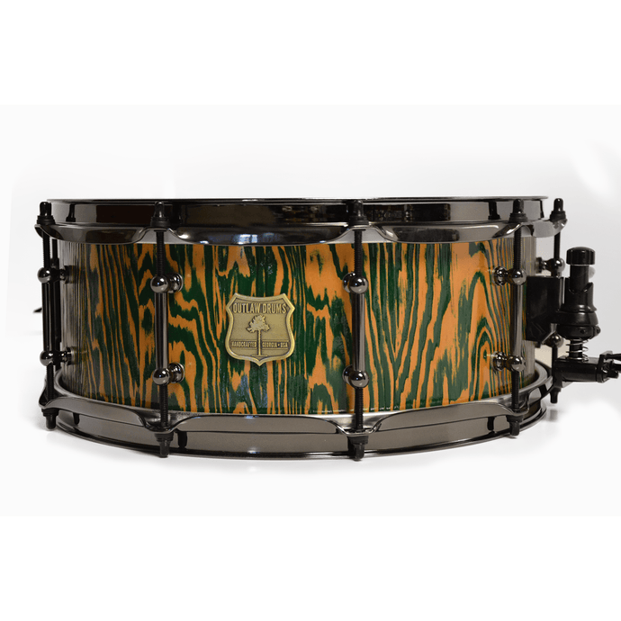 Outlaw Drums Douglas Fir / Maple Snare Drum