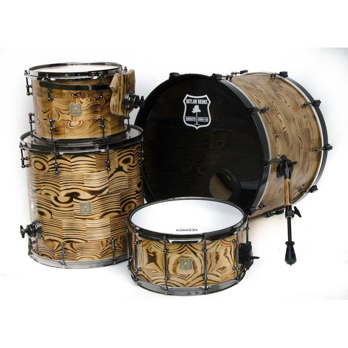 Outlaw Drums Forest Fire Drum Kit