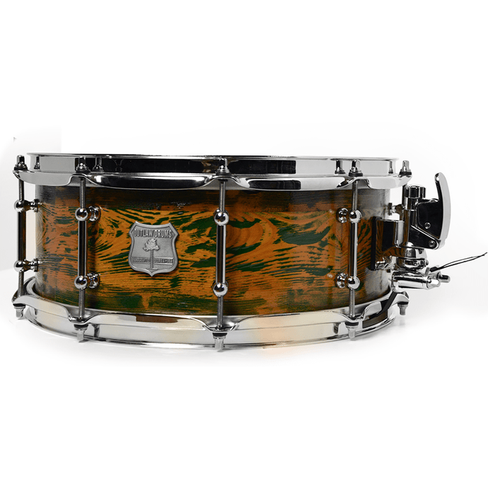 Outlaw Drums Segmented Heartpine Snare Drum