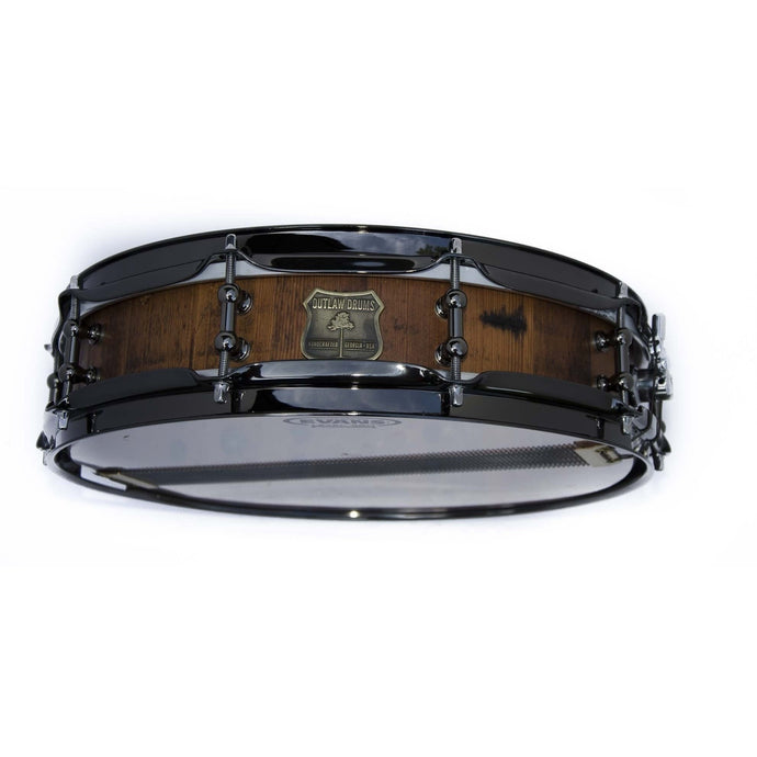 Outlaw Drums Stave Heartpine Piccolo Snare Drum