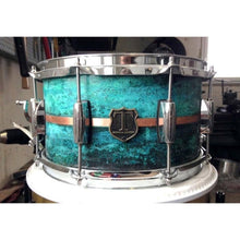 "T Berger Drums 12""x6,5"" Copper Patina Snare Drum"
