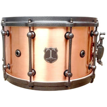 "T Berger Drums 14"" Antique Copper Snare Drum"