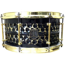 "T Berger Drums 14"" Hammered Brass Snare Drum"