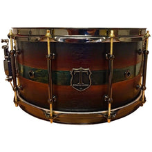 "T Berger Drums 14"" Maple Copper-Inlay Snare Drum"