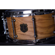 "T Berger Drums 14"" Olive/Walnut Snare Drum"