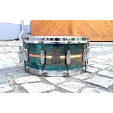 "T Berger Drums 14""x6,5"" Copper Patina Snare Drum"