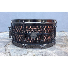 "T Berger Drums 14""x6,5"" Hammered Copper Snare Drum"