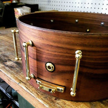 "T Berger Drums 14""x6,5"" Walnut Snare Drum"